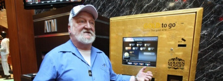 "Check Out The ""Gold To Go"" Vending Machine- The Vending Machine That Dispenses Pure Gold"