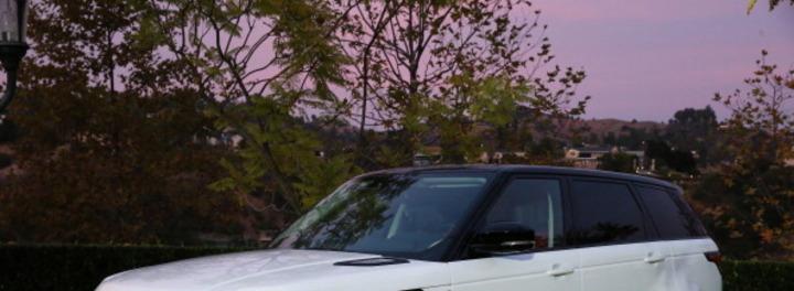 Paula Patton's Car:  The Woman Who Inspires Robin Thicke Drives a Range Rover