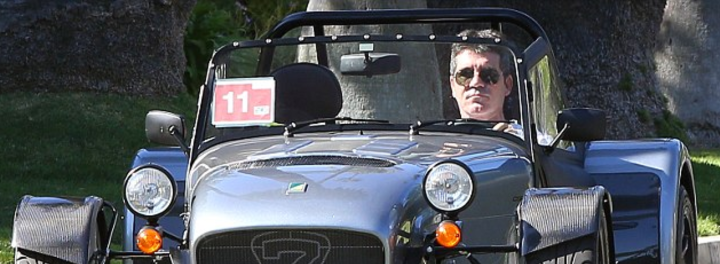Simon Cowell's Car:  But Does It Have The X Factor?