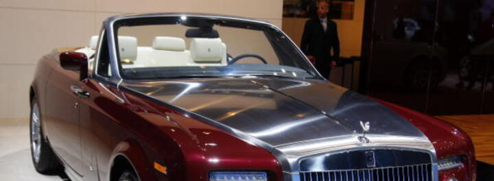 Dina Lohan's Car:  Not Even a Rolls-Royce Can Save the Lohans