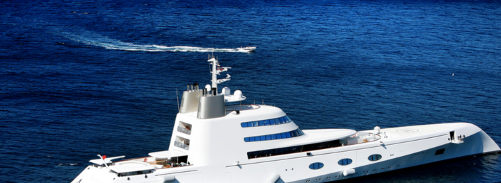 Take A Tour Of A $300 Million Yacht