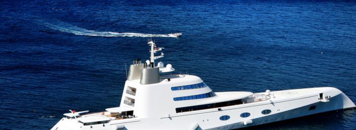 Take A Tour Of A $300 Million Yacht