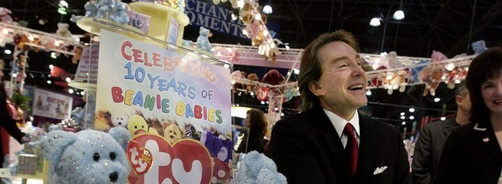 Imagine Earning $2.6 Billion Off Stuffed Animals... That's What Beanie Babies Creator Ty Warner Did