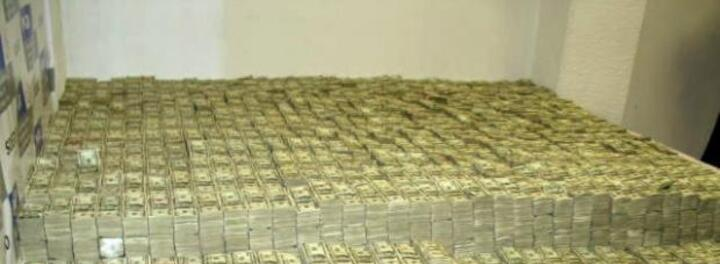 The Insane Story Behind The Largest Drug Cash Seizure Of All Time - $226 Million Found In A Bedroom