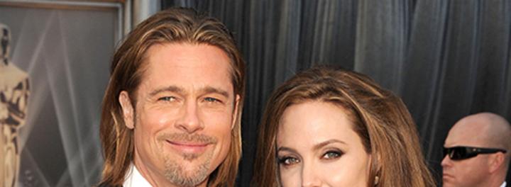 Brad Pitt And Angelina...