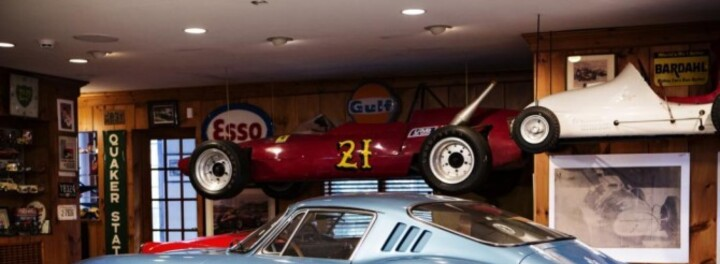You Might Put Photos Of Your Kids In Your Cubicle, This Guy Put Up A 1967 Ferrari... For 33 years!