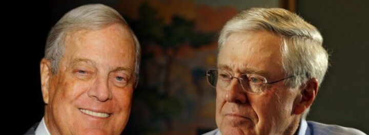 Last Week, The Koch Brothers Each Lost $2 Billion in One Day... And They Probabably Didn't Even Notice.