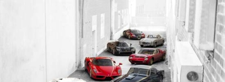 $65 Million Supercar Collection Up For Bid!