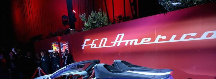 Amazing Car Of The Day: The Ferrari F60 America