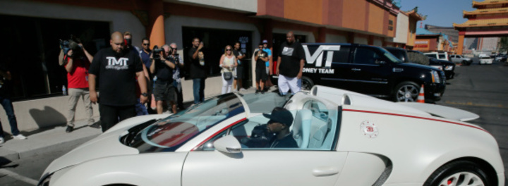 Floyd Mayweather Buys $3.5 Million Bugatti, Plans To Have $30 Million Car Collection Within A Year