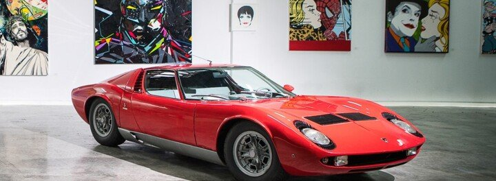 Extremely Rare Lamborghini Miura That Was Found In Barn Sells For $1.2 Million
