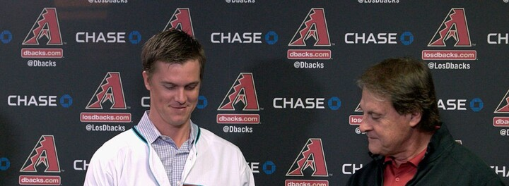 Arizona Diamondbacks Pitcher Zack Greinke Will Donate 1% Of His Salary To Charity Every Year