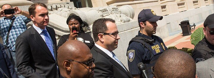 "Former Subway Pitchman Jared Fogle Appeals ""Unreasonable"" Prison Sentence"
