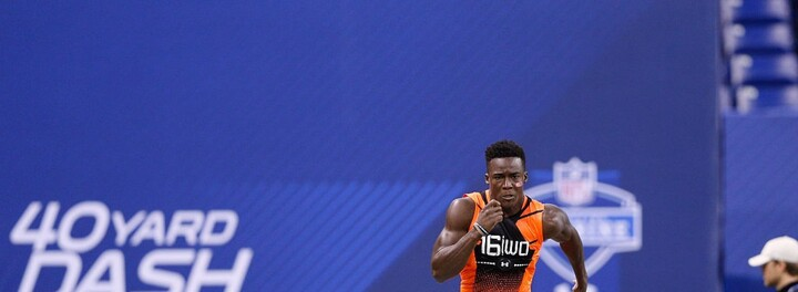 Adidas Offering $1 Million To Player Who Can Break 40-Yard Dash Record At The Combine