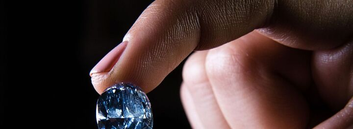 The De Beers Millennium Jewel 4 Expected To Break Auction Records In April