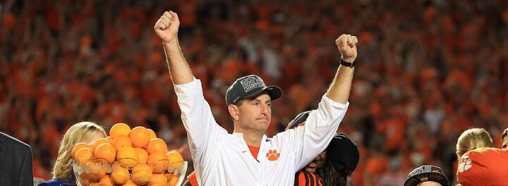 Clemson Rewards Dabo Swinney With New Six-Year, $31.75 Million Contract