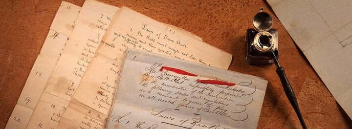 "Original Handwritten ""Laws of Base Ball"" Sold For $3.26 Million At Auction"