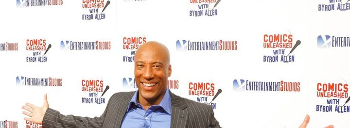 Forget Tyler Perry And Oprah. Byron Allen Is The Most Successful Black Person In Hollywood... And You've Probably Never Heard His Name.
