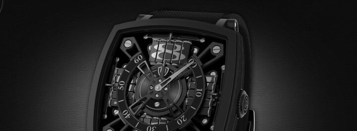 "The S-110 Evo Venta Black Is The ""World's Blackest Watch,"" And It Costs $95,000"