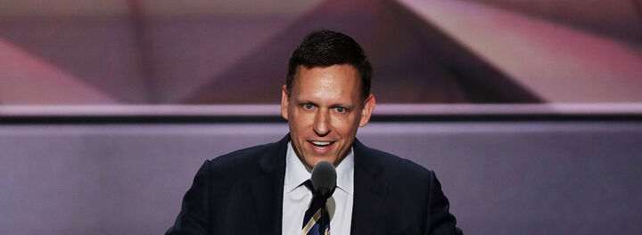 Silicon Valley Left Scratching Their Heads After Peter Thiel's RNC Speech