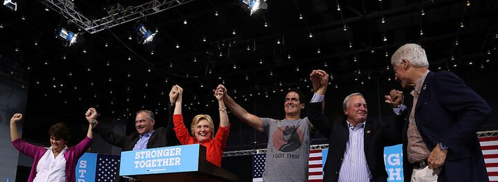 "Mark Cuban Officially Endorses Hillary Clinton, Calls Trump A ""Jagoff"""