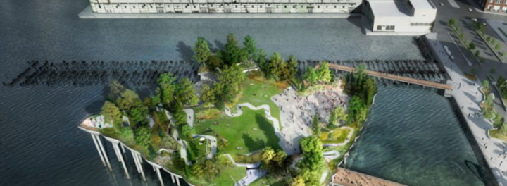 Judge Green Lights $130 Million Island Park In New York City