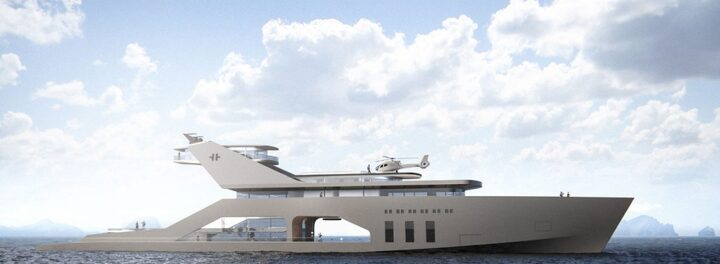 108M Mega Yacht Concept Brings Eco-Friendly Luxury To The High Seas
