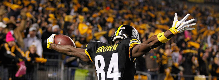 Antonio Brown Just Restructured His Deal WIth The Steelers, And He's Still Way Underpaid