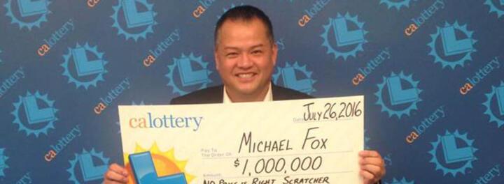 Los Angeles Man Seeking Part-Time Job Gets $1 Million Scratch-Off Jackpot Instead