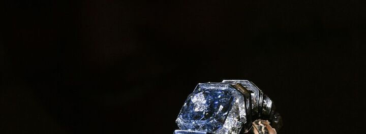 A Rare Blue Diamond May Sell For $25 Million This Week