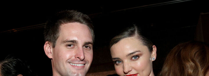 Snapchat's Upcoming IPO Will Be Worth BILLIONS To Evan Spiegel And Miranda Kerr