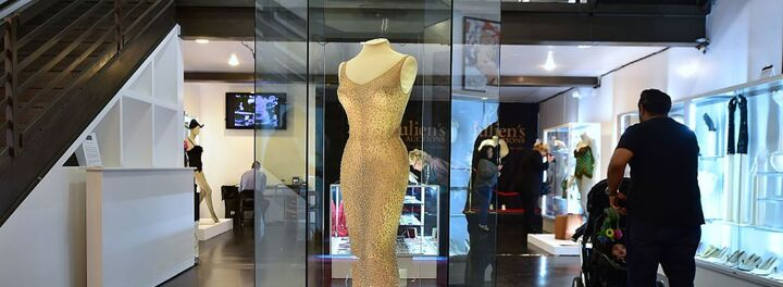 "Marilyn Monroe's Famous ""Happy Birthday"" Dress Just Sold For $4.8 Million"