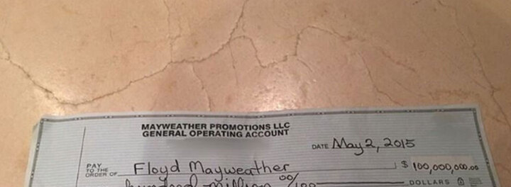 Floyd Mayweather Shuts Down Haters With $100 Million Instagram Post