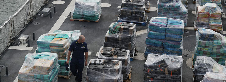 This Is What $715 Million In Cocaine Looks Like