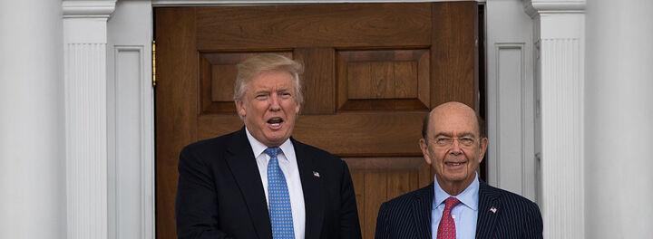Billionaire Wilbur Ross Named Commerce Secretary Under President-Elect Trump