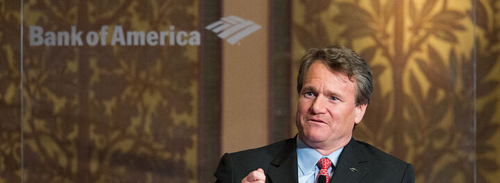 CEO Brian Moynihan Awarded For Bank Of America's Big Growth