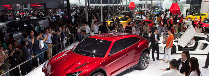 Lamborghini Unveils Its First 4-Door Crossover SUV Since The 80s, The Urus
