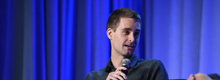 Evan Spiegel Just Got An $850 Million Bonus For Taking Snapchat Public