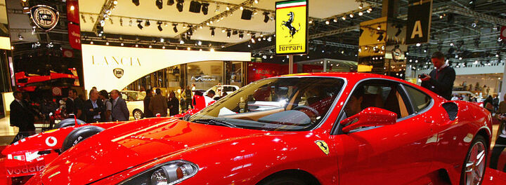 Presidential Ferrari F430 Up for Auction