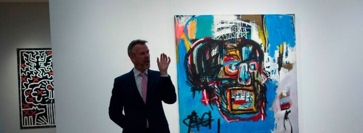 Untitled Work By Jean-Michel Basquiat Sold For Record-Breaking Sum