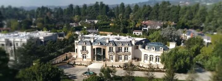 See The Beverly Hills Mega-Mansion Currently On The Market For $80 Million