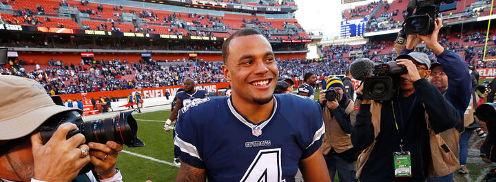 Dak Prescott Only Makes About Half A Million Dollars From His Salary... But His Earnings Are Five Times That