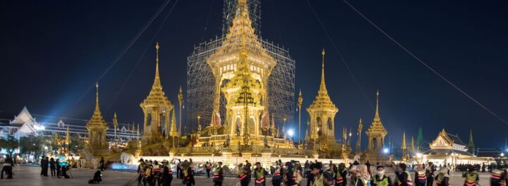 King Bhumibol Adulyadej Of Thailand Receives $90 Million Cremation Ceremony