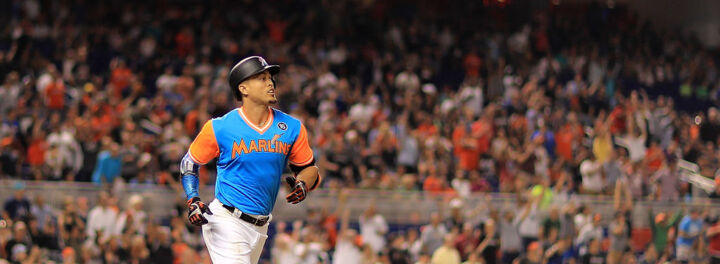 The Miami Marlins Are Trying To Trade Giancarlo Stanton's Record Contract