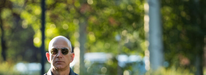 Jeff Bezos' Net Worth Just Topped $105 Billion And That Makes Him The Richest Person Of All Time (Sort Of)