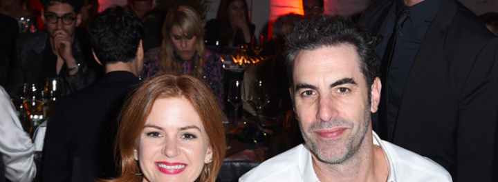 Sacha Baron Cohen & Isla Fisher Net Worth