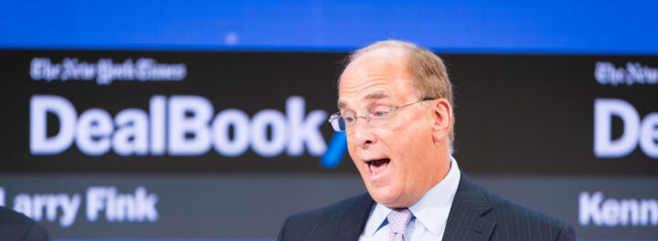 Welcome To The Billionaires Club Larry Fink!