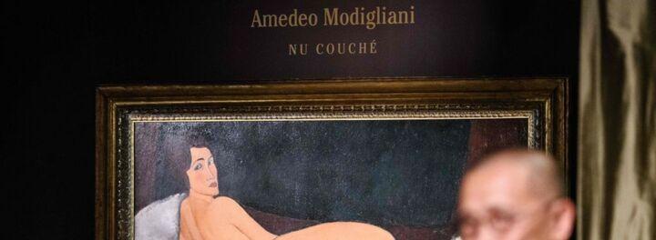 This Modigliani Nude Just Set A World Record With $150M Pre-Sale Value Estimate