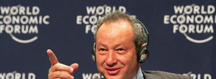 Egyptian Billionaire Naguib Sawiris Puts Half His Fortune Into Gold