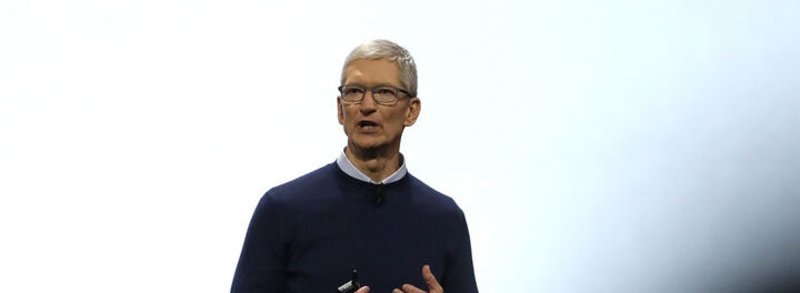 Tim Cook Donates Almost $5M Worth Of Apple Stock To Charity